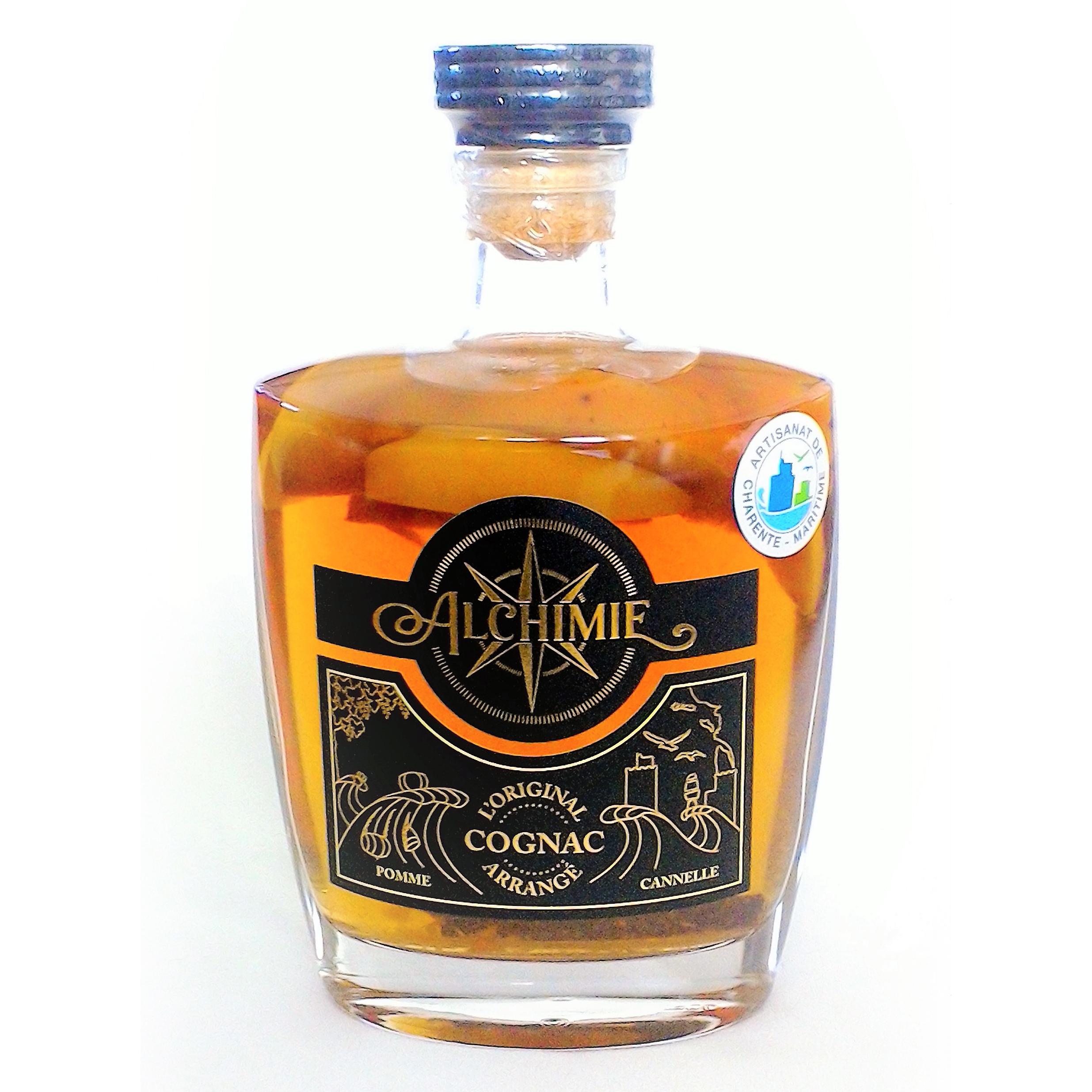 Cognac Arrangé Pomme Cannelle - Alchimie